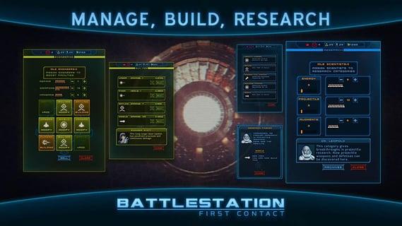 作战部队第一次接触 Battlestation - First Contact