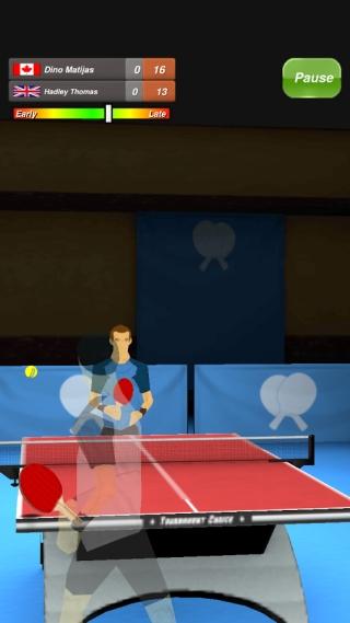 乒乓球 修改版