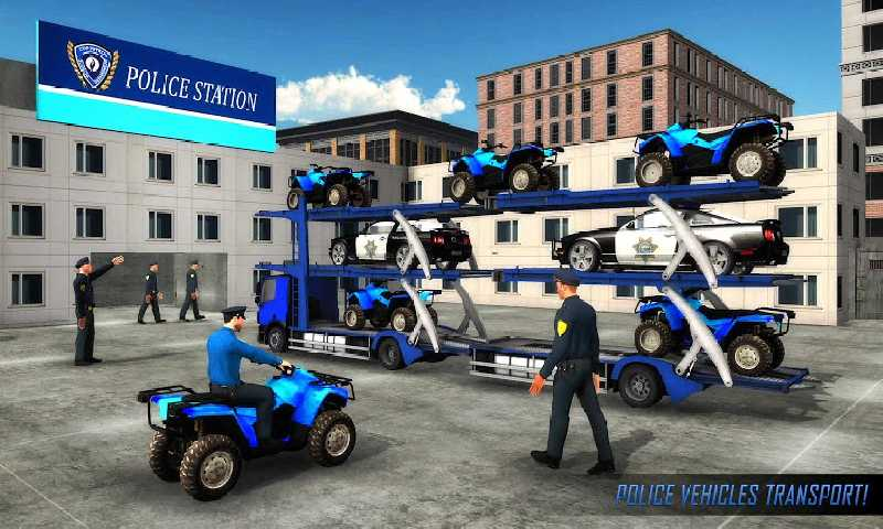 美国警察运输游戏