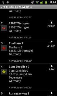 GPS导航信息