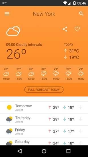 Weather 14 days截图