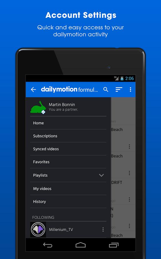 Dailymotion截图