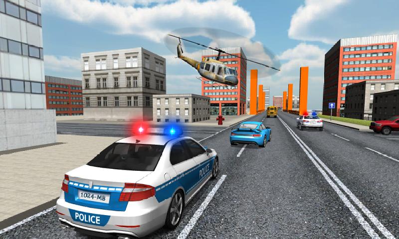 警车司机截图