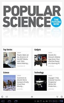 Google电子杂志截图