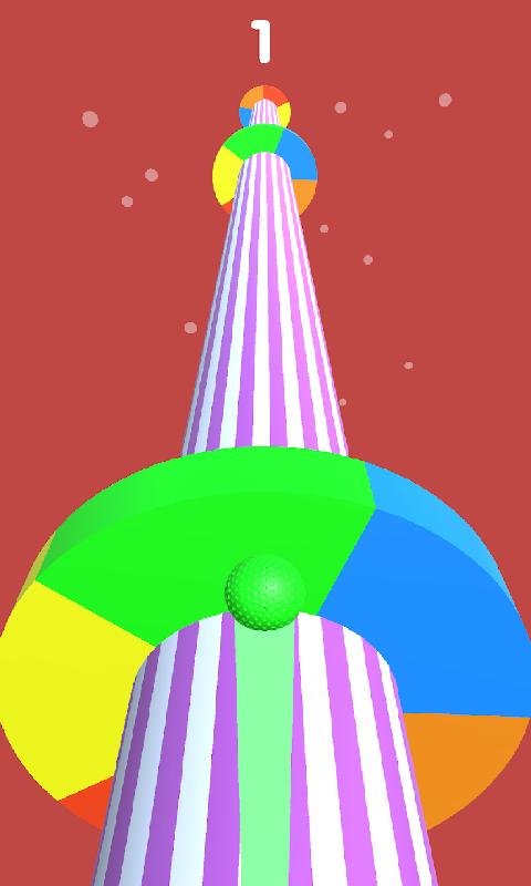 螺旋彩色道路截图