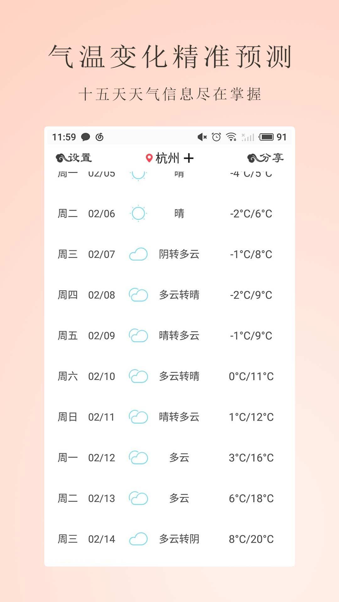 温湿度计截图