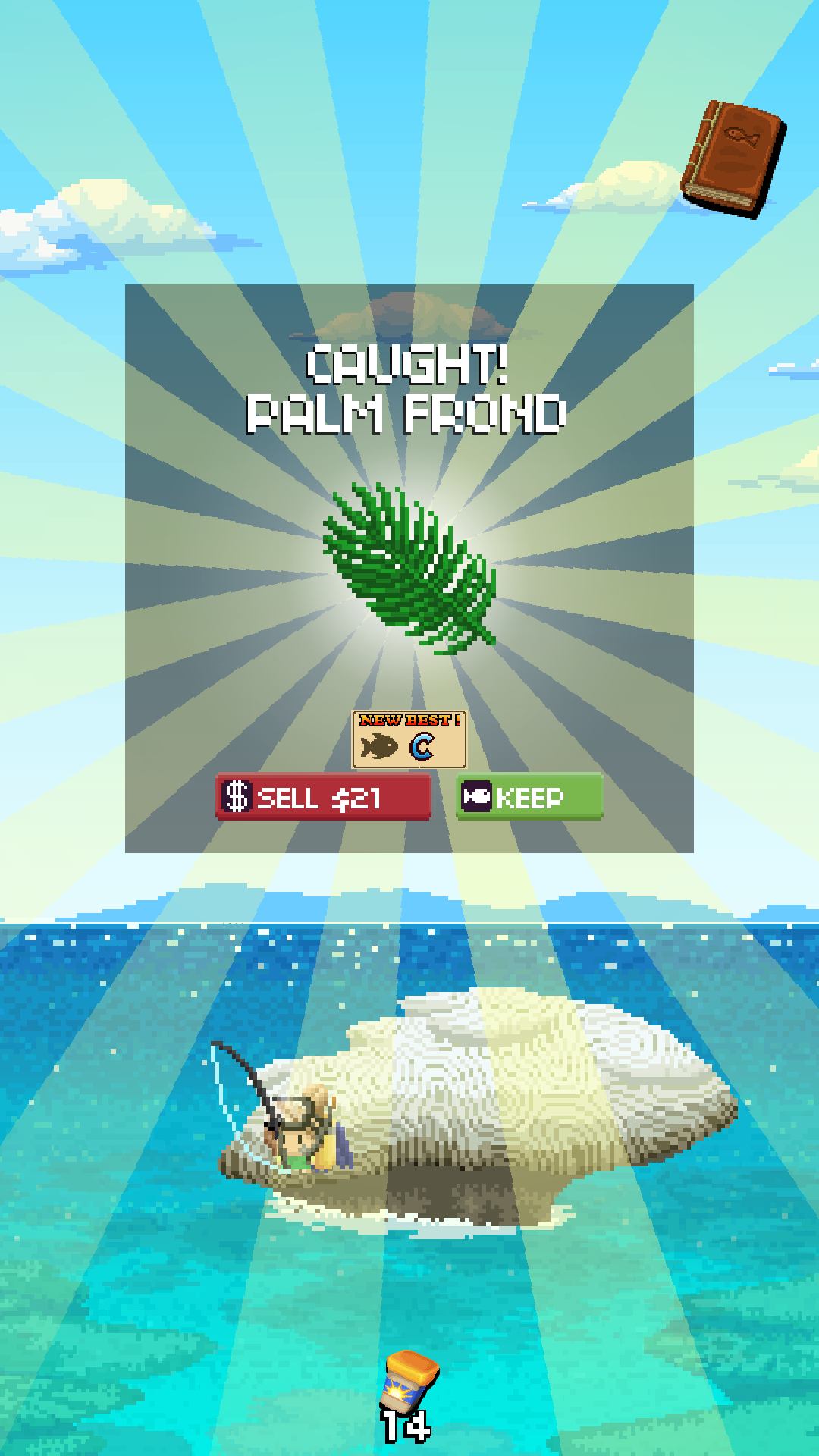 沙漠荒岛钓鱼乐