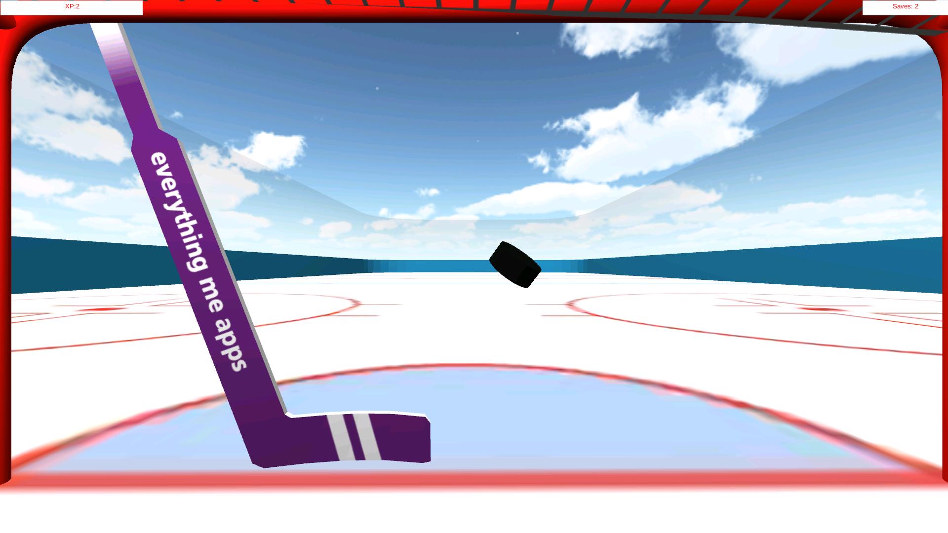 冰球守门员3D