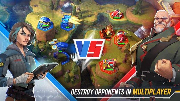 机器人战争截图