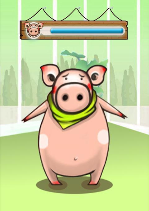 一,减肥猪是你健康减肥的小助手,它可以和你一起走路图片