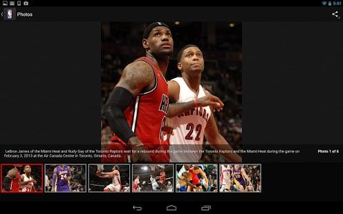 NBA app截图
