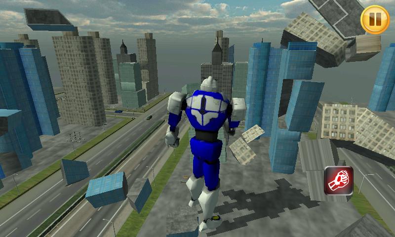 机器人入侵3D