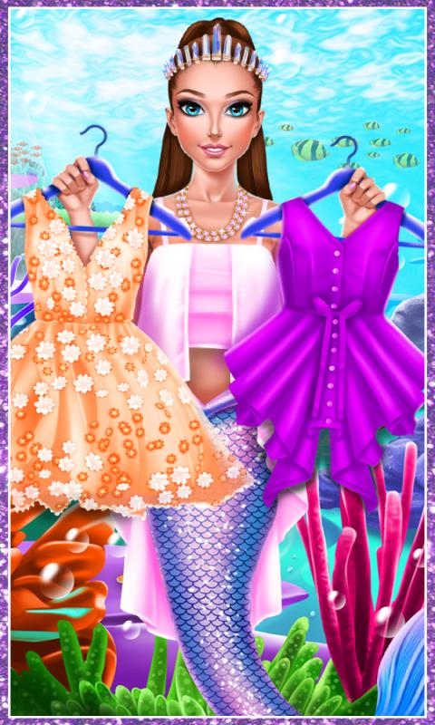 美人鱼公主换装截图