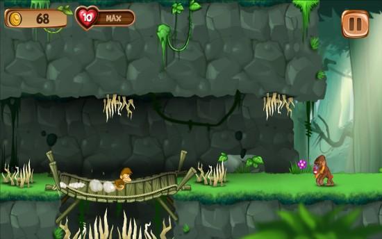 猴子快跑:香蕉岛 无限金币版