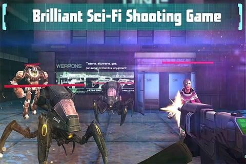 现代前线:射击游戏截图