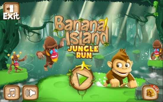 猴子快跑:香蕉岛截图
