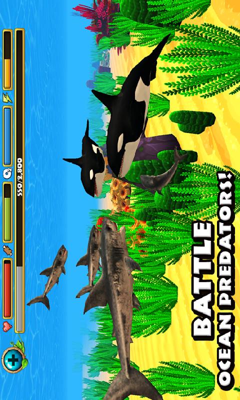 鲨鱼模拟截图
