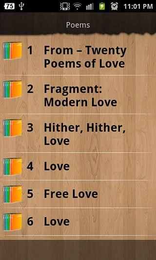 最浪漫的爱情诗截图