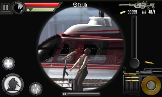 现代狙击手 无限金币版截图