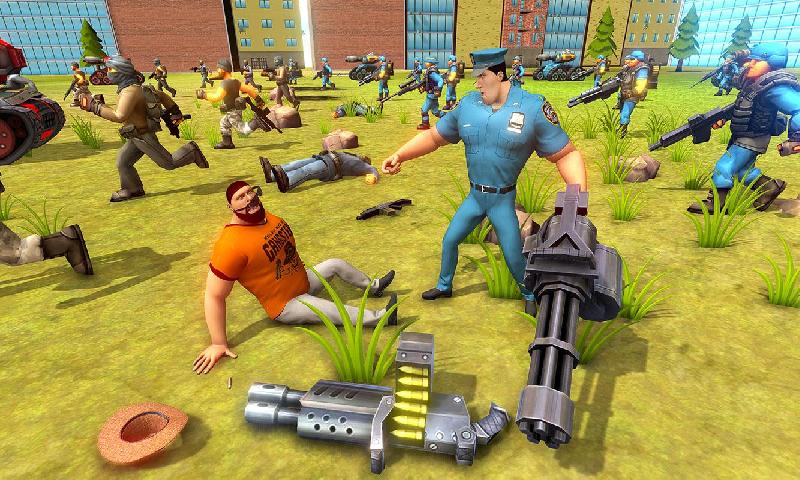 警匪战斗模拟器截图