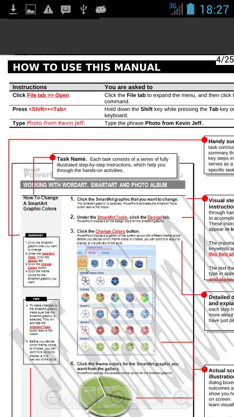 OffiDoc Excel中的Word PPT浏览器