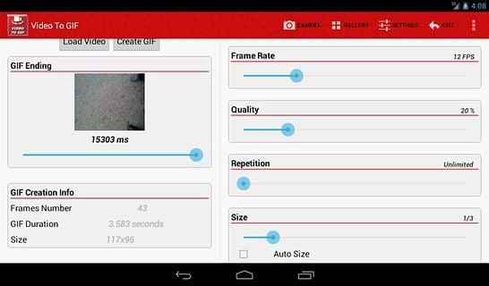 视频转GIF截图