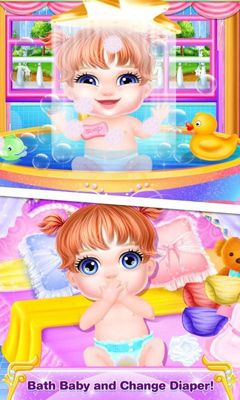 婴儿护理装扮游戏截图