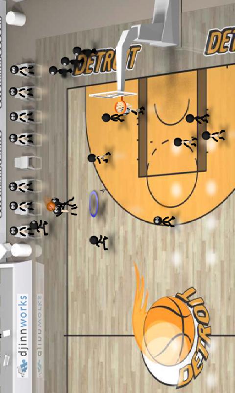 火柴人篮球截图