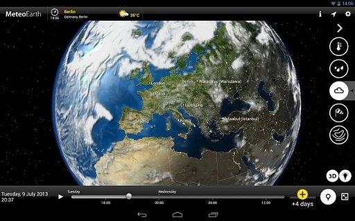 全球天气截图