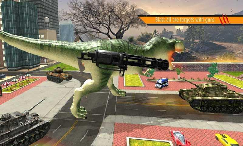 恐龙战斗模拟截图