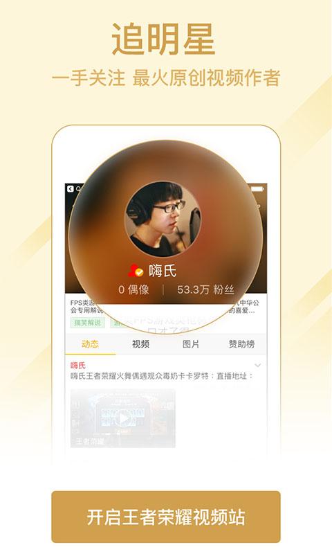 王者荣耀视频站截图