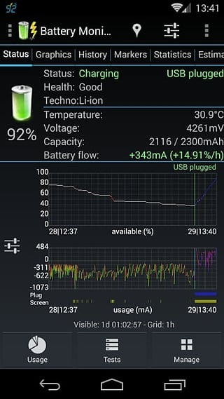 3C Battery Monitor截图