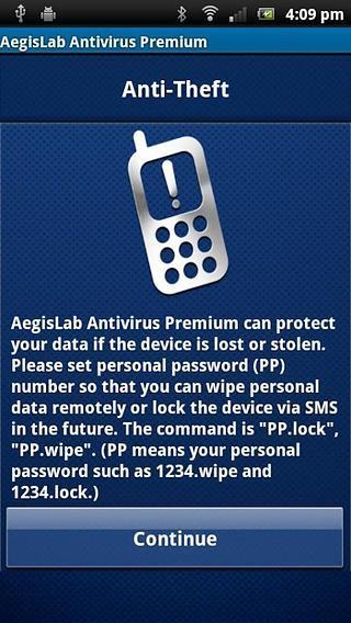 AegisLab移动杀毒安全工具截图
