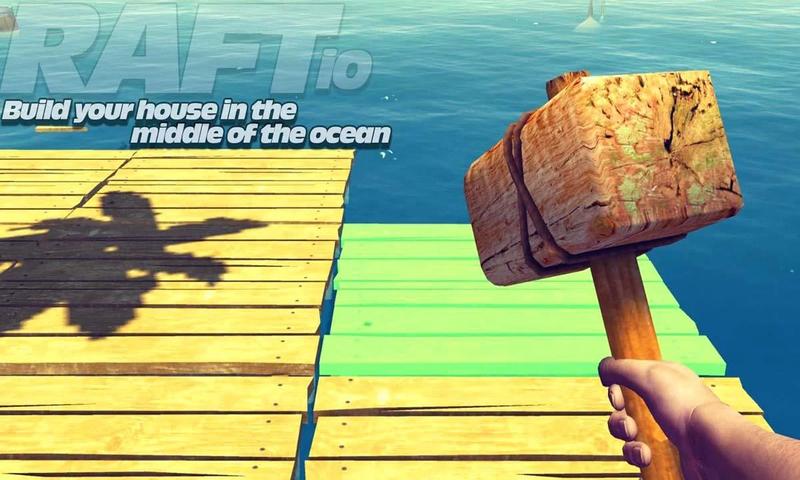 大海木筏生存截图