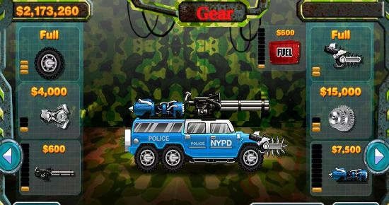 武装警车 无限金币截图