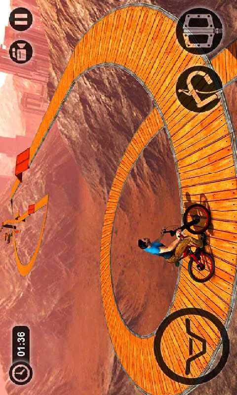 不可思议的自行车截图