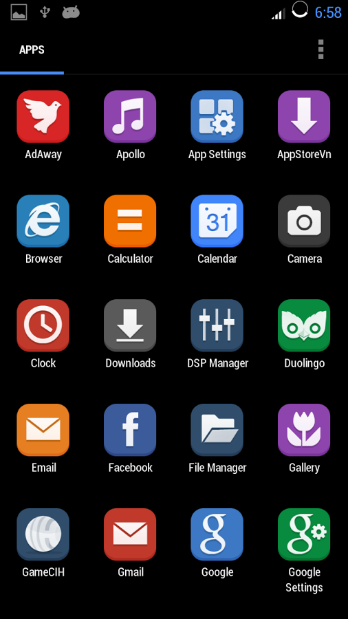 Flat Icon图标包截图