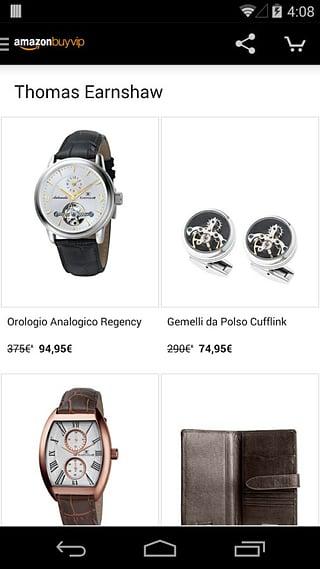 Amazon BuyVIP截图