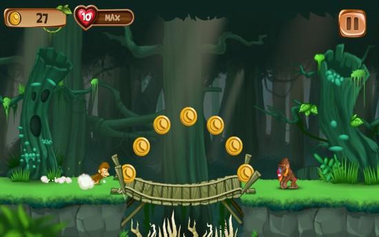 猴子快跑:香蕉岛 无限金币版截图