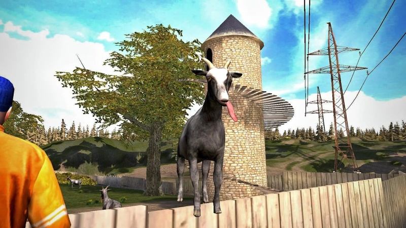 模拟山羊 直装版截图