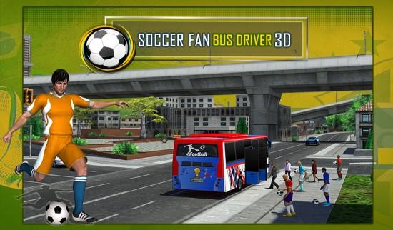 足球迷巴士司机3D 无限金币版截图