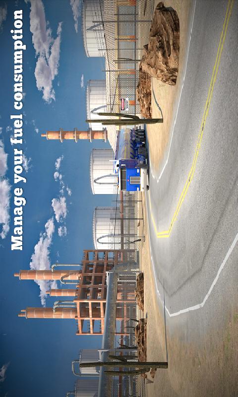 卡车司机3D:极限道路截图