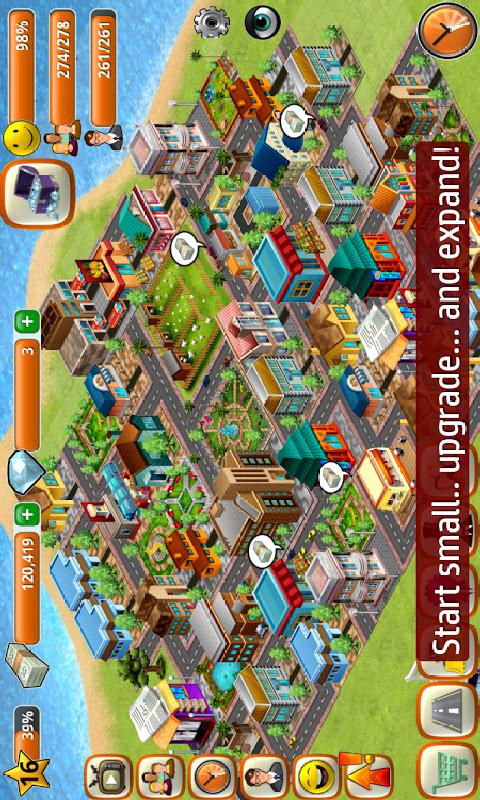 模拟岛屿 城市建设