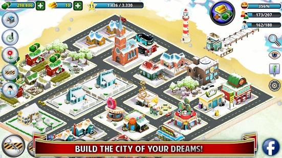 城市岛屿:冬季版截图