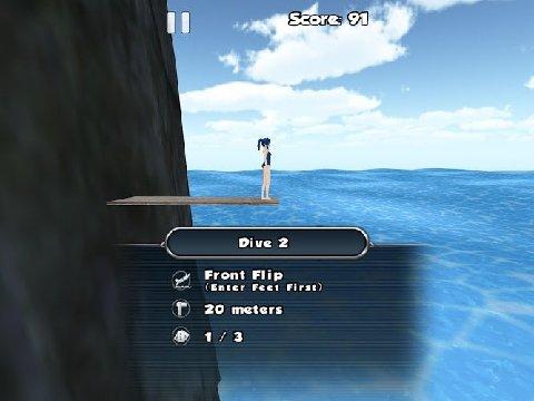 3D悬崖跳水