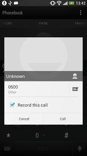 通话录音截图