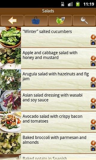 美味的食谱截图