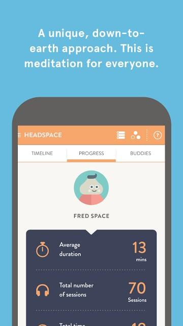 Headspace截图