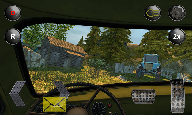 4x4俄罗斯越野车