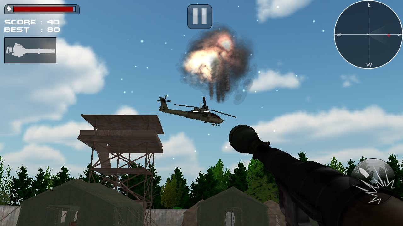 直升机空袭3D截图